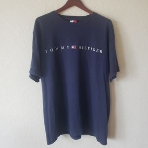 Early 2000s Tommy Hilfiger Spell Out T Shirt